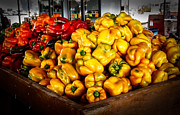 Peppercorns Prints - Bell Peppers Print by Robert Bales