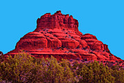 Bell Rock Vortex Framed Prints - Bell Rock Framed Print by Bill Barber