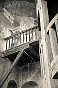 Spiral Staircase Photos - Bell tower cream I by John  Bartosik