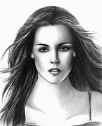 Eclipse Drawings - Bella Swan by Crystal Rosene