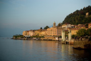Lago Di Como Art - Bellagio Approach by Chuck Parsons