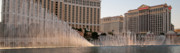 Fountains Prints - Bellagio Panorama Print by Andy Smy