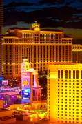 Jmp Photography Prints - Bellagio  Planet Hollywood  Print by James Marvin Phelps