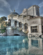 Las Vegas Prints - Bellagio Shops Print by David Bearden
