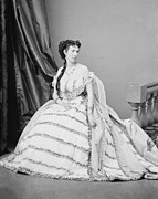 Southerners Prints - Belle Boyd 1844-1900, Was A Confederate Print by Everett