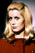 Gold Buttons Posters - Belle De Jour, Catherine Deneuve, 1967 Poster by Everett