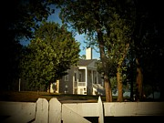 Haunted Houses Photo Posters - Belle Grove Plantation Poster by Joyce  Kimble Smith