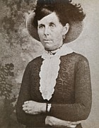 1880s Framed Prints - Belle Starr 1848-1889, A Western Outlaw Framed Print by Everett