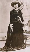 Dresses Prints - Belle Starr 1848-1889, Photographed Print by Everett