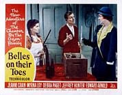 Posth Posters - Belles On Their Toes, Lobby Card Poster by Everett