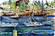 Sailing Ships Originals - Bellingham Washington The Beauty by Mindy Newman