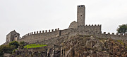 Battlement Framed Prints - Bellinzona - Ticino Framed Print by Joana Kruse