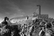 Battlements Prints - Bellinzona Switzerland Castelgrande Print by Joana Kruse