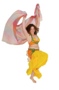 Dancer Art Posters - Belly dancer  Poster by Ilan Rosen