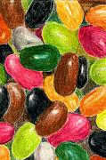 Candy Paintings - Belly Jelly by Lynne Reichhart