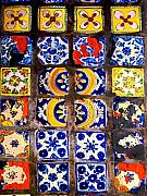 Folk Art Photos - Belmar Tiles by Darian Day by Olden Mexico