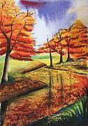 Beloved Autumn Print by Shakhenabat Kasana
