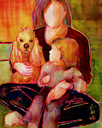 Mother Paintings - Beloved by Blenda Tyvoll