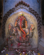 Verticals Prints - Beloved Ganesh - Nepal Print by Craig Lovell