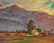 Berkshire Hills Posters Painting Originals - Below Greylock by Len Stomski
