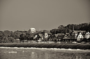 Boathouse Row Philadelphia Prints - Below the Dam at Boathouse Row Print by Bill Cannon