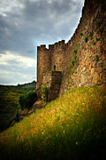 Weathered Photo Posters - Belver Castle Poster by Carlos Caetano