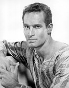 1959 Movies Photo Posters - Ben-hur, Charlton Heston, 1959 Poster by Everett