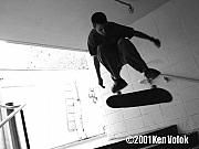 Skate Photo Originals - Ben Wilmore  Santa Monica 2001 by Ken  Volok