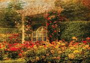 Mike Savad - Bench - The Rose Garden