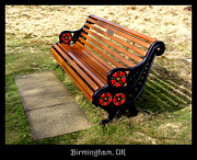 Benches Acrylic Prints - Bench 01 by Roberto Alamino