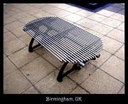 Benches Acrylic Prints - Bench 03 by Roberto Alamino