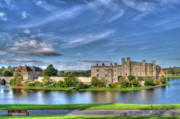 Fortifications Framed Prints - Bench view of Leeds Castle Framed Print by Chris Thaxter