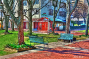 Howard Prints - Benches Print by Stephen Younts