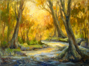 Wimberley Prints - Bend in the River Print by Lilli Pell
