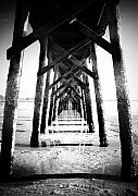 Aging Photos - Beneath the Pier by Tara Turner