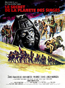 Planet Of The Apes Posters - Beneath The Planet Of The Apes, 1970 Poster by Everett