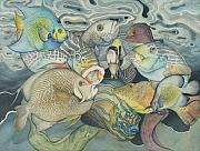 Reef Fish Posters - Beneath the surface Poster by Liduine Bekman