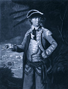 Benedict Photo Framed Prints - Benedict Arnold - Who Commanded Framed Print by Everett