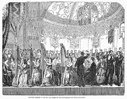 Conducting Prints - Benefit Concert, 1853 Print by Granger
