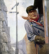Overalls Art - Beneker: The Engineer, 1913 by Granger