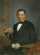 Statesman Metal Prints - Benito Juarez (1806-1872) Metal Print by Granger