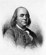 Benjamin Franklin Photos - Benjamin Franklin by International  Images