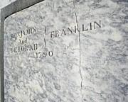 Benjamin Franklin's Grave Print by Snapshot  Studio