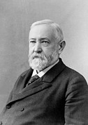 Old Face Framed Prints - Benjamin Harrison - President of the United States Framed Print by International  Images