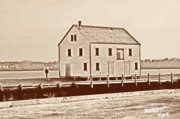 Old House Photos - Bennett Pier by Ross Powell