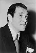 Jewish Ancestry Framed Prints - Benny Bugsy Siegel In 1947, The Year Framed Print by Everett