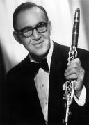 Bowtie Metal Prints - Benny Goodman (1909-1986) Metal Print by Granger