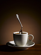 Stiff Art - Bent Spoon Stuck In Strong Coffee by Sabine Scheckel