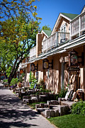 Bent Photos - Bent Street in Taos by David Patterson