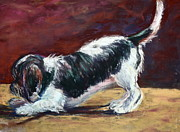 Rescue Pastels Posters - Bentley 2 Poster by Joan Wulff